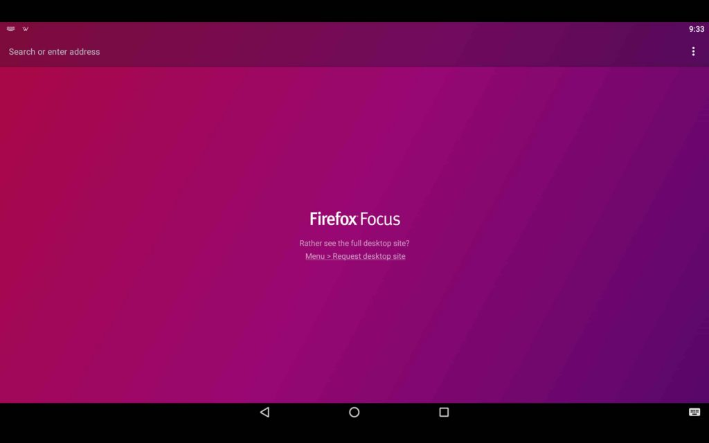 Firefox Focus For PC 3