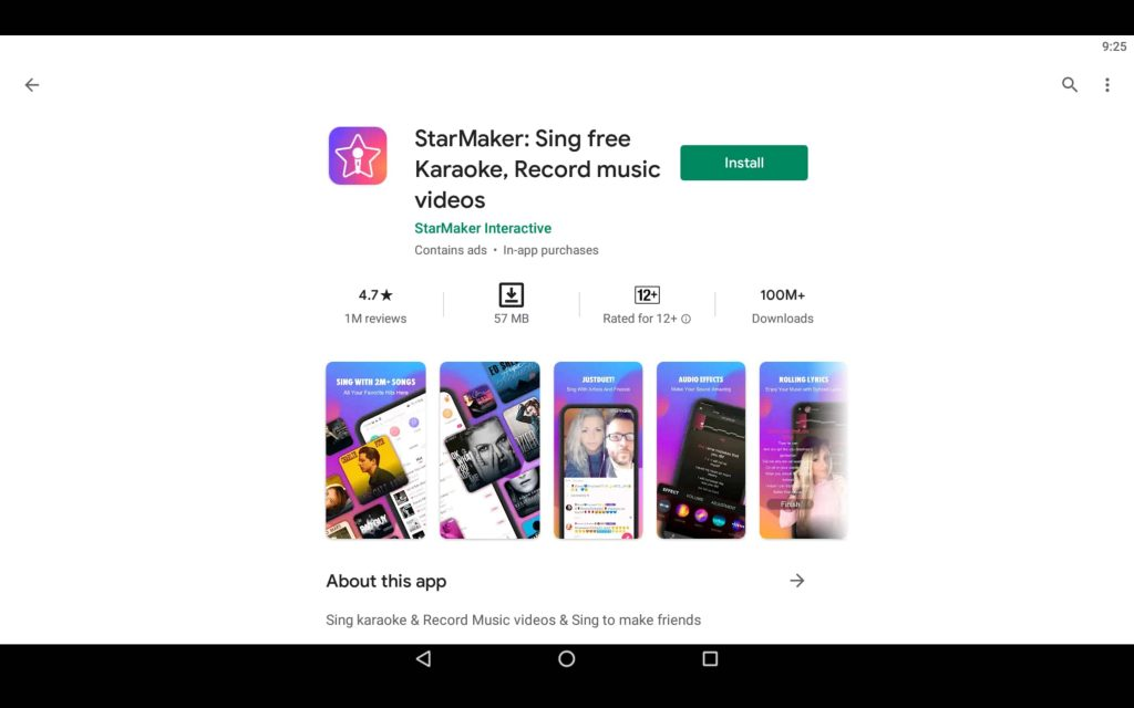StarMaker For PC 2