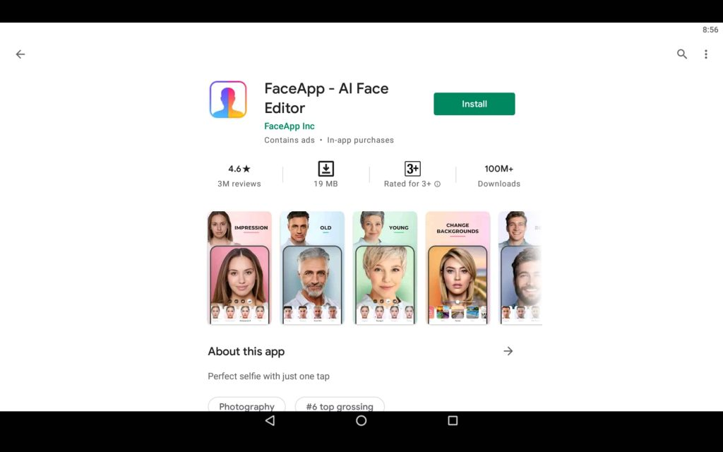 FaceApp For PC 2
