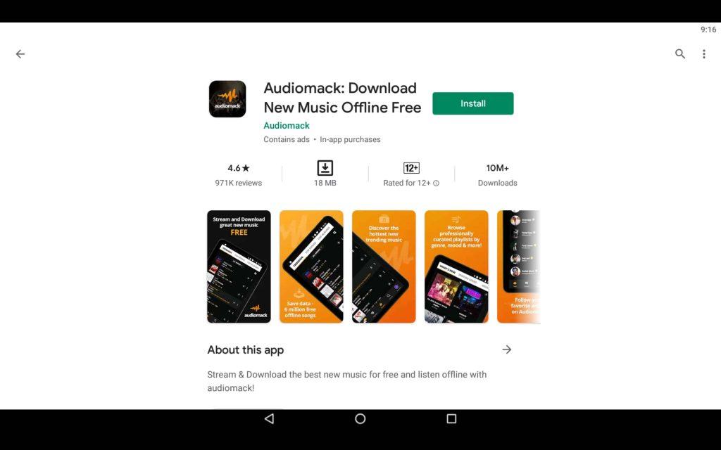 Audiomack For PC 2