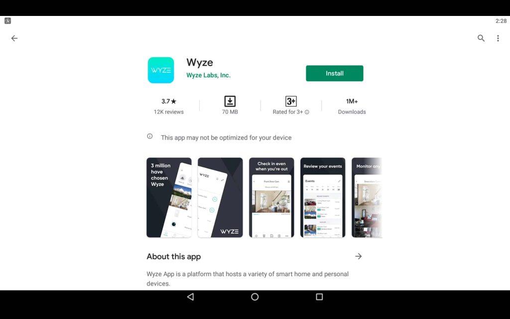 Wyze App For PC 2