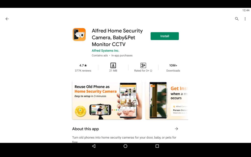 Alfred Security For PC 2