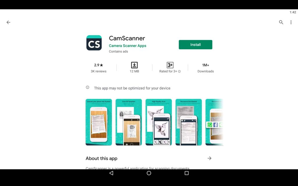 CamScanner For PC 2