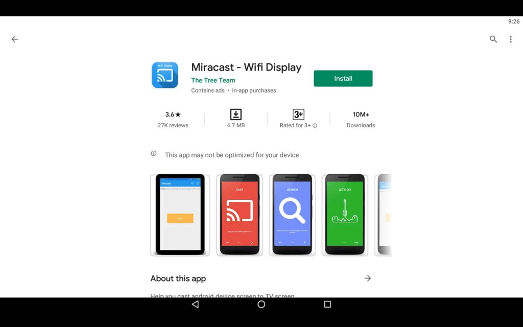 Miracast For PC 2