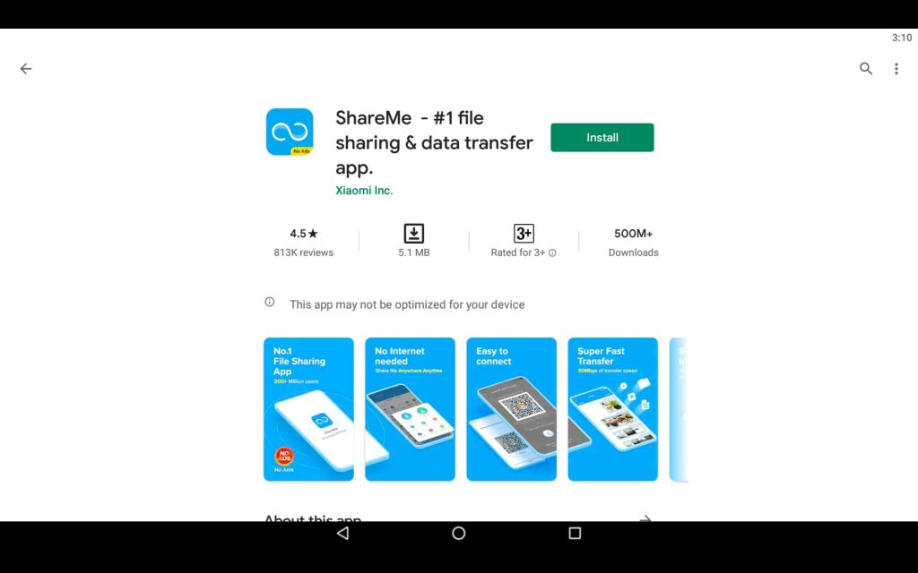 ShareMe For PC 2