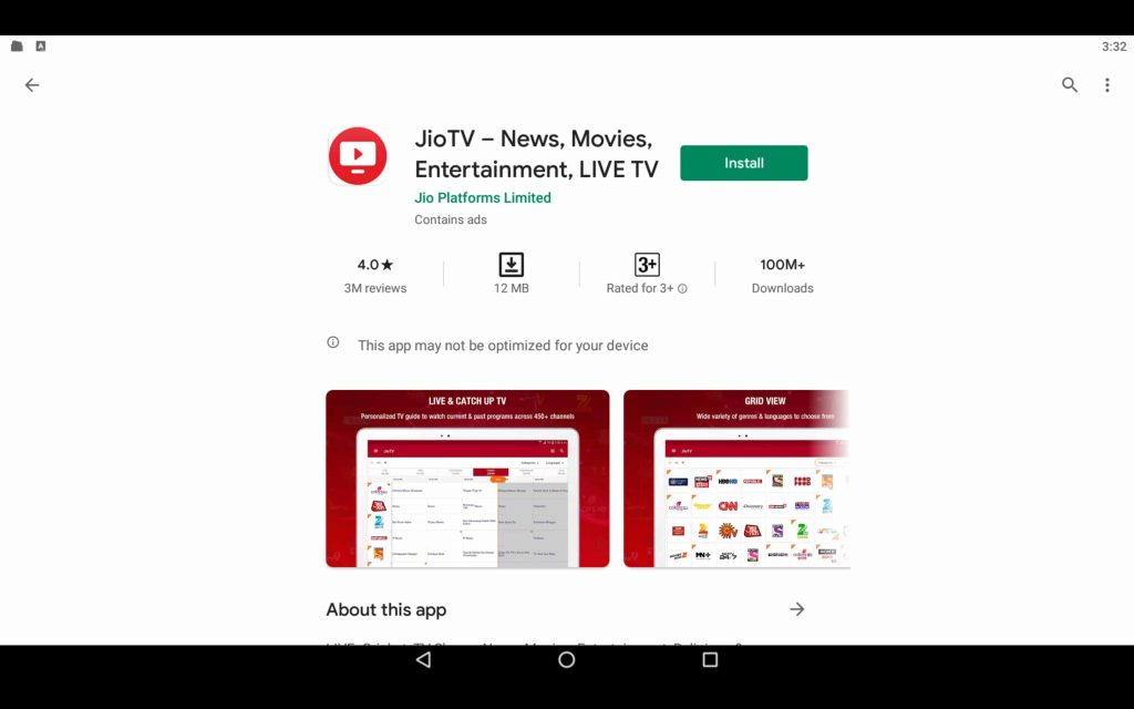 Jio TV App For PC 2