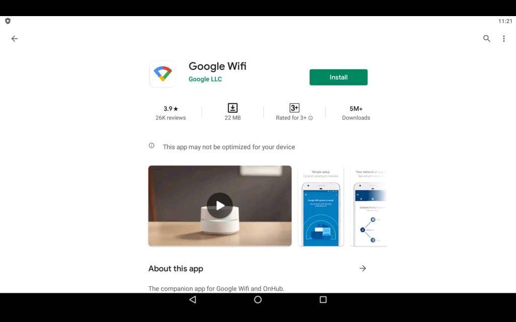 Google WiFi App For PC 2
