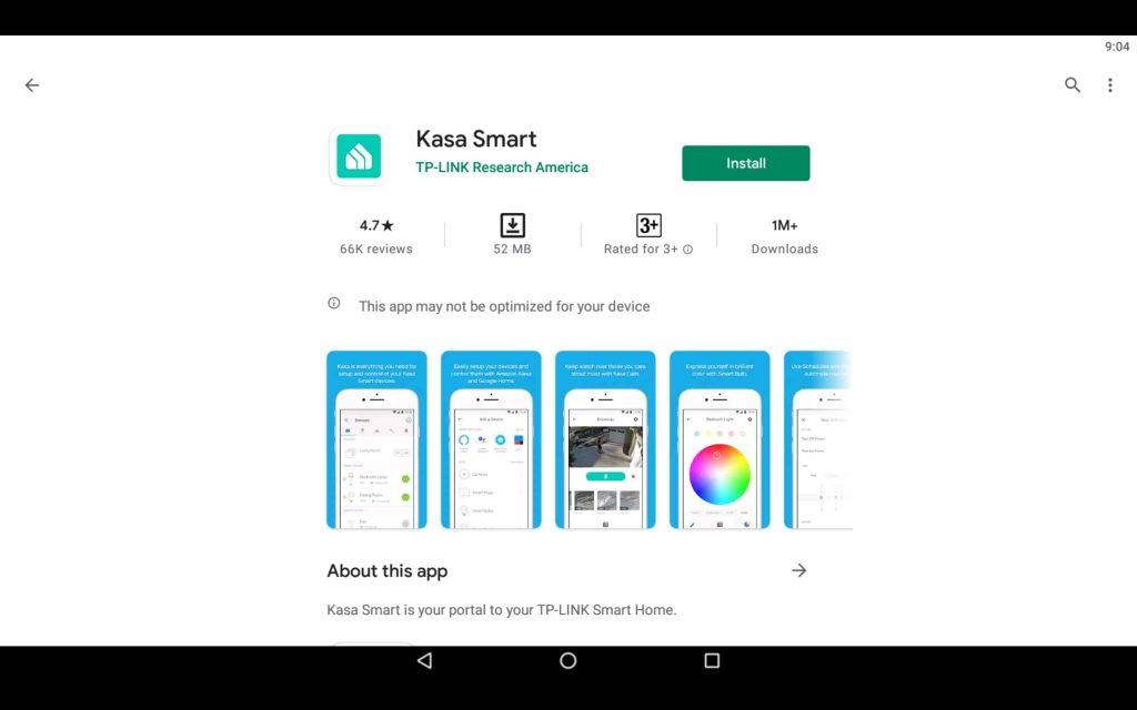 Kasa Smart App For PC 2