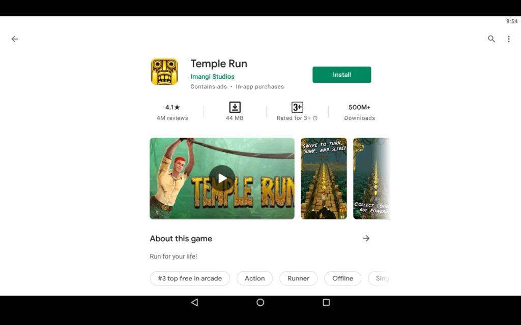 Temple Run For PC 2