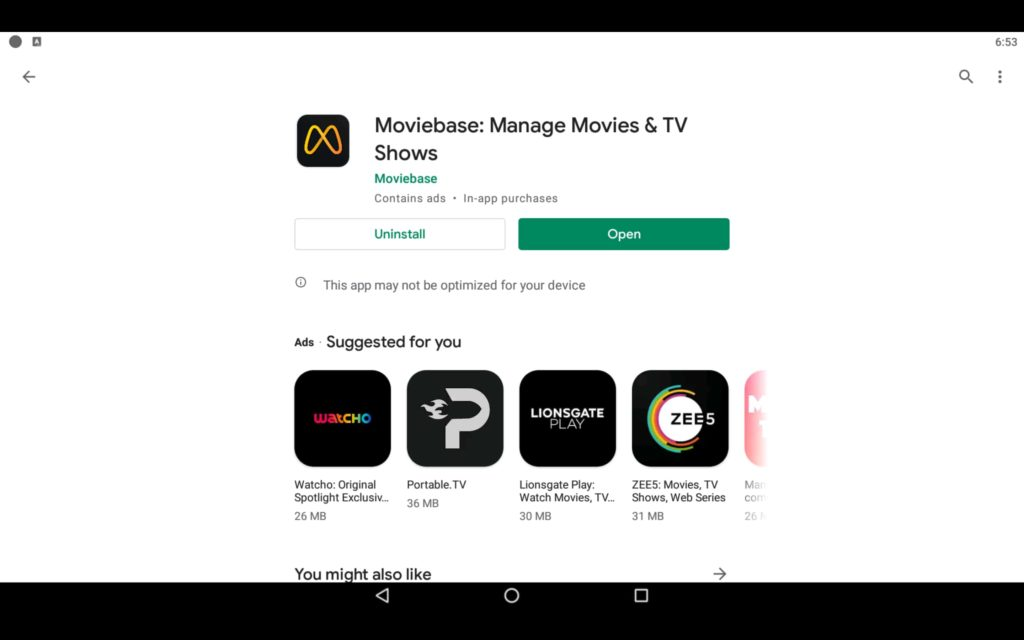 Moviebase For PC 3