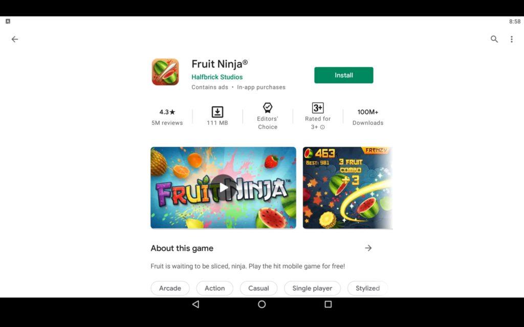 Fruit Ninja For PC 2