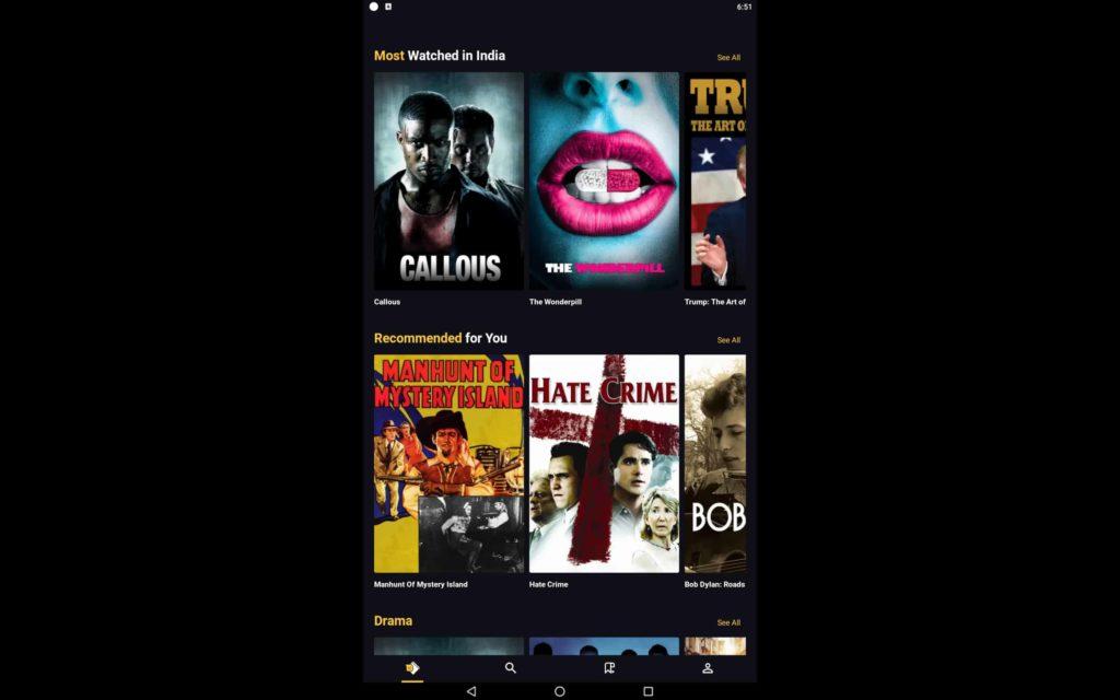 Filmzie For PC 5